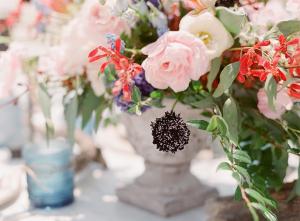 Event Floral Arrangement Designed By Branch Floral Design in Charleston SC